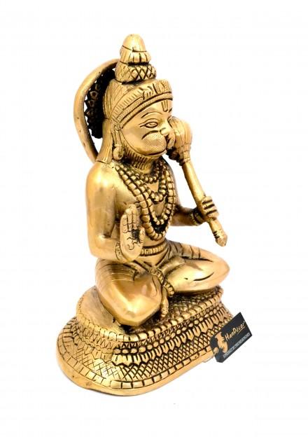 Hanuman Aashirwaad Mudra Brass Statue