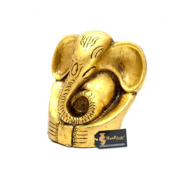 Brass Appu Ganesha Idol