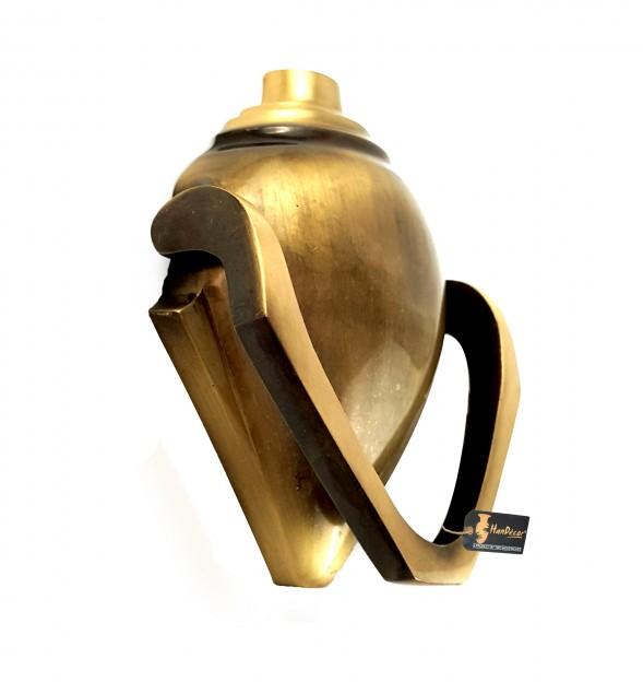 Shankh Design Brass Door Knocker