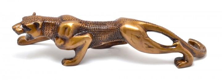 Luxurious Premium Jaguar Collectible Brass Showpiece