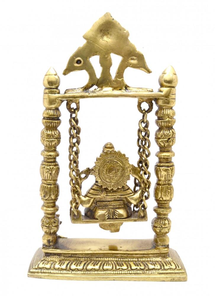 Ganesh on Jhoola Antique Yellow