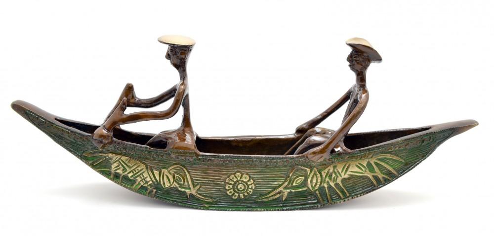 Long Kerala Boat Showpiece