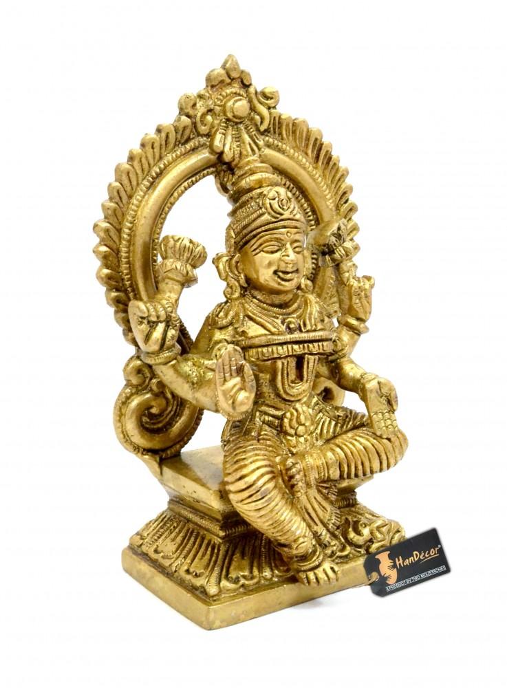Aashirwaad Laxmi Brass Statue