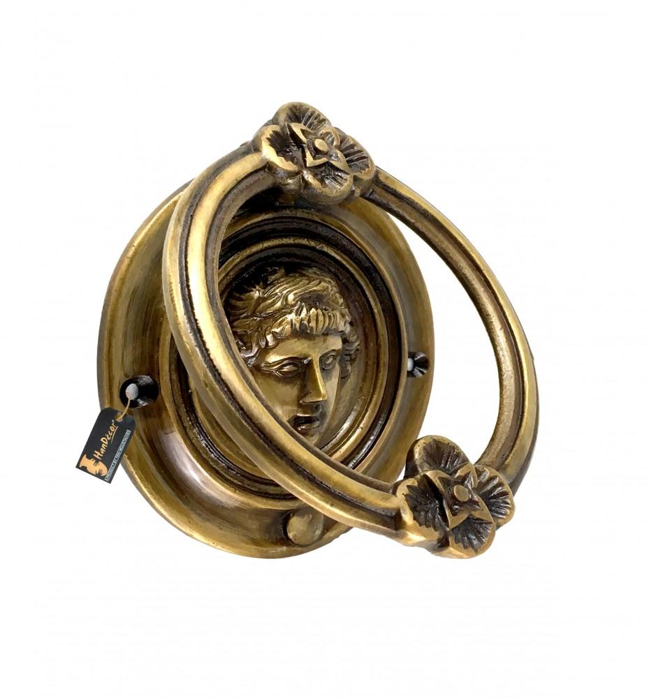 Athena Design Brass Door Knocker - Royal Brown
