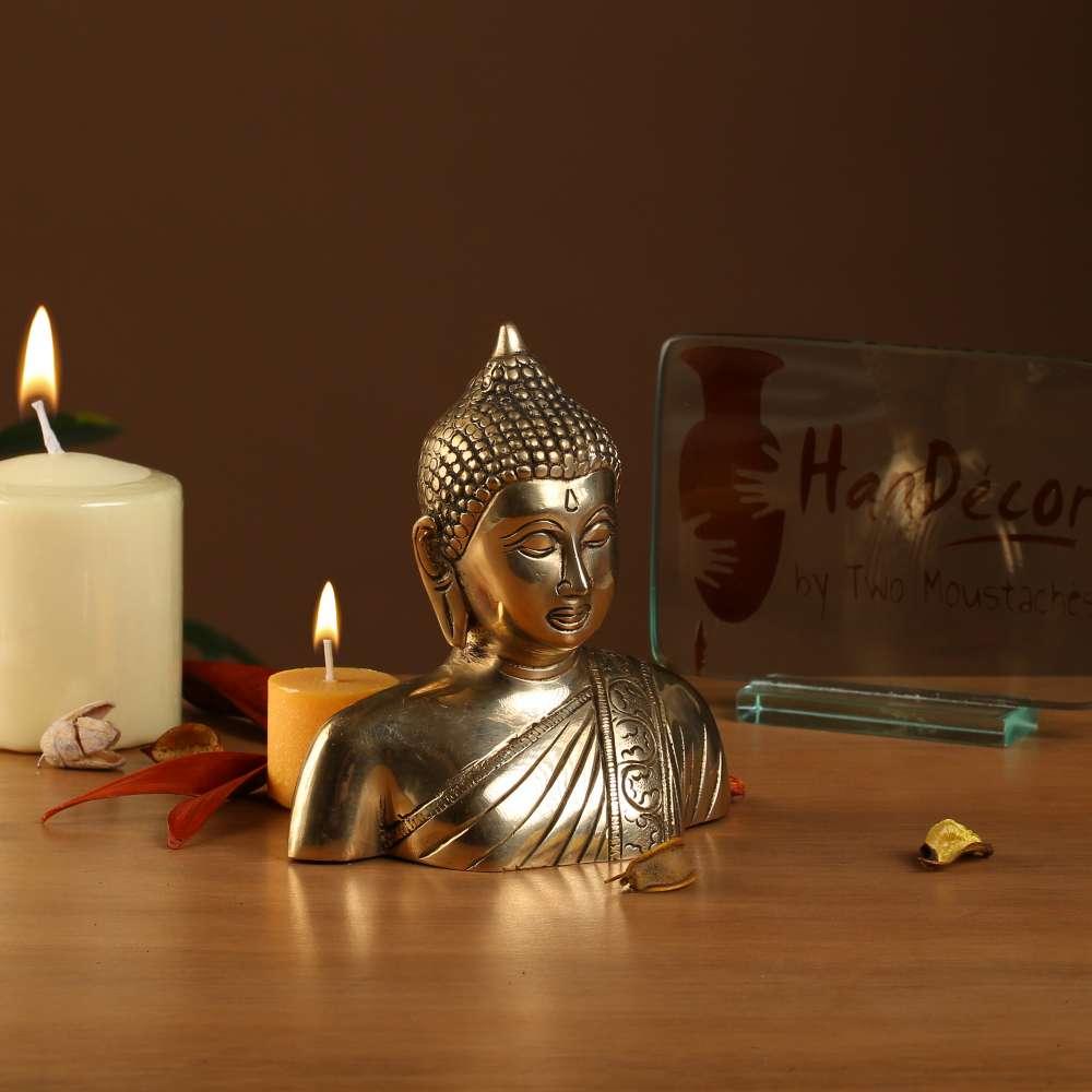 Buddha Bust Antique Showpiece