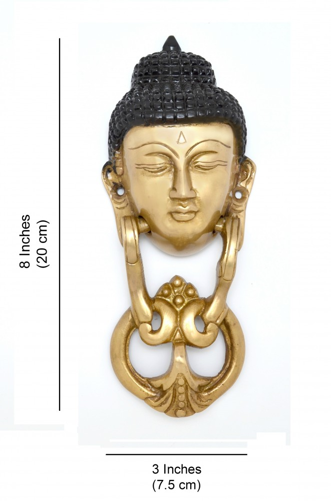 Buddha Face Door Knocker