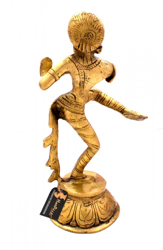 Dancing Apsara Brass Showpiece