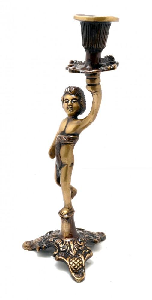Greek Kid Medieval Collectibles Design Candle Holder