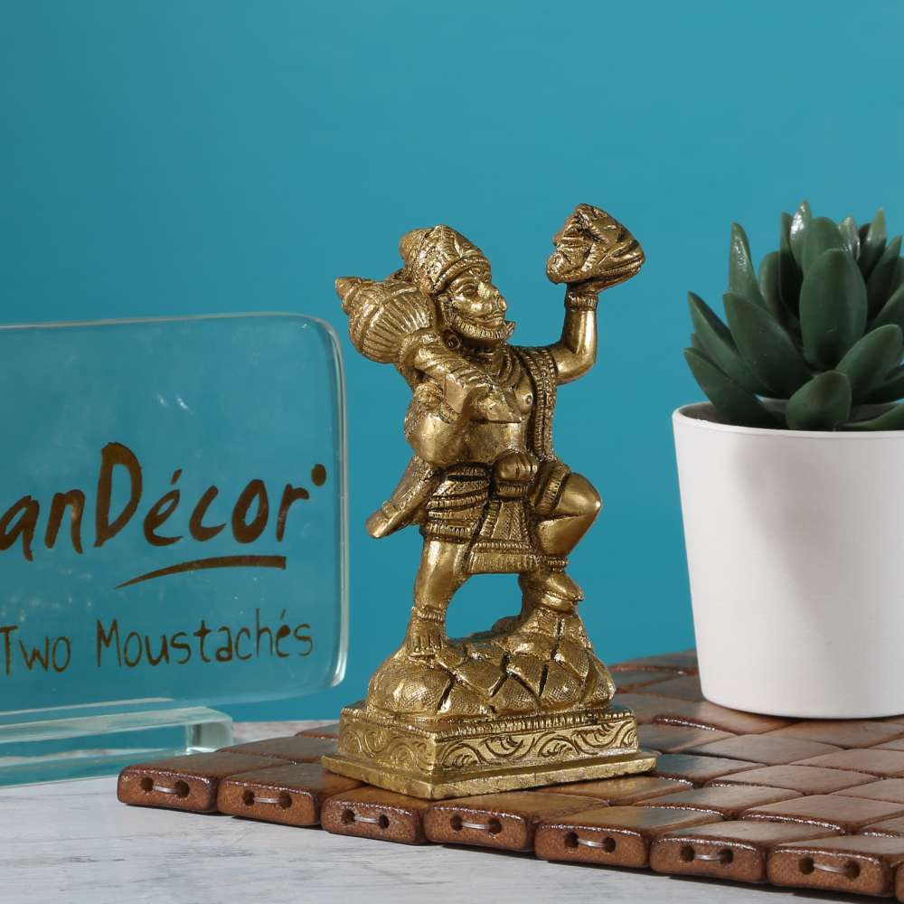 Hanuman Ji with Sanjeevani Parvat