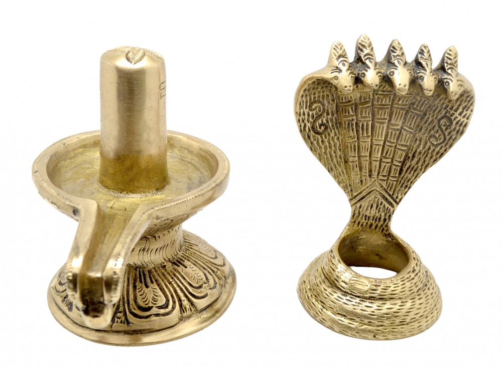 Eternal Shivling with Sheshnag