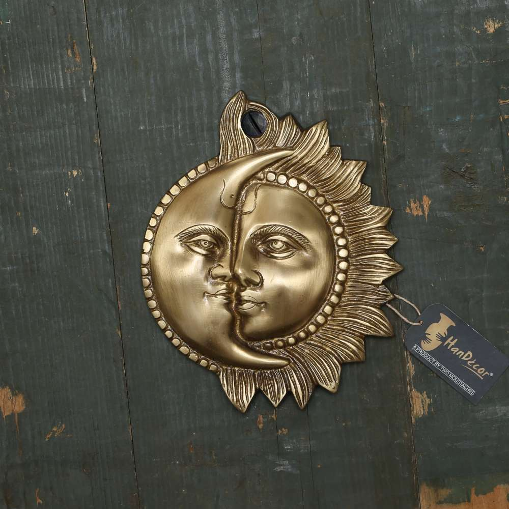 Designer Sun Moon Wall Hanging