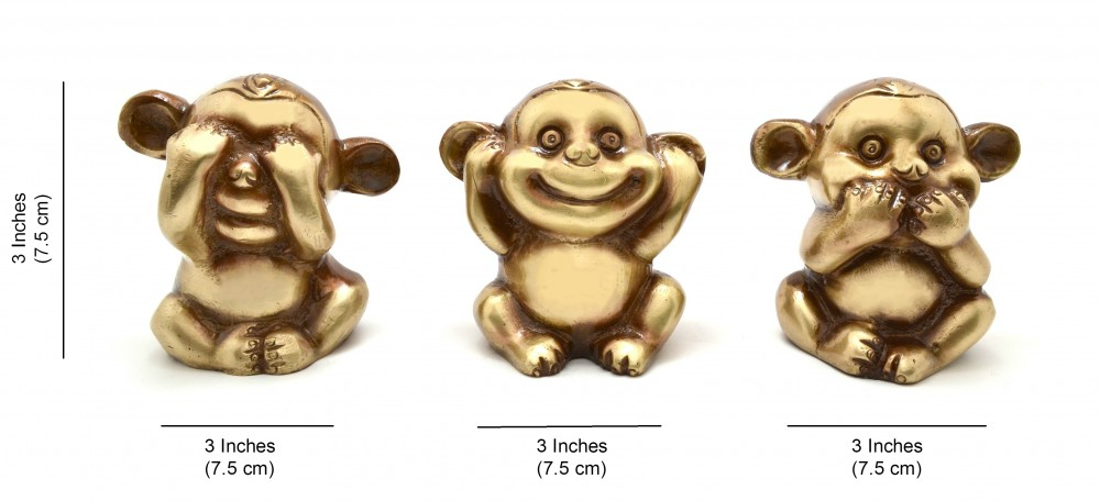 The Three Musketeers Monkey Set