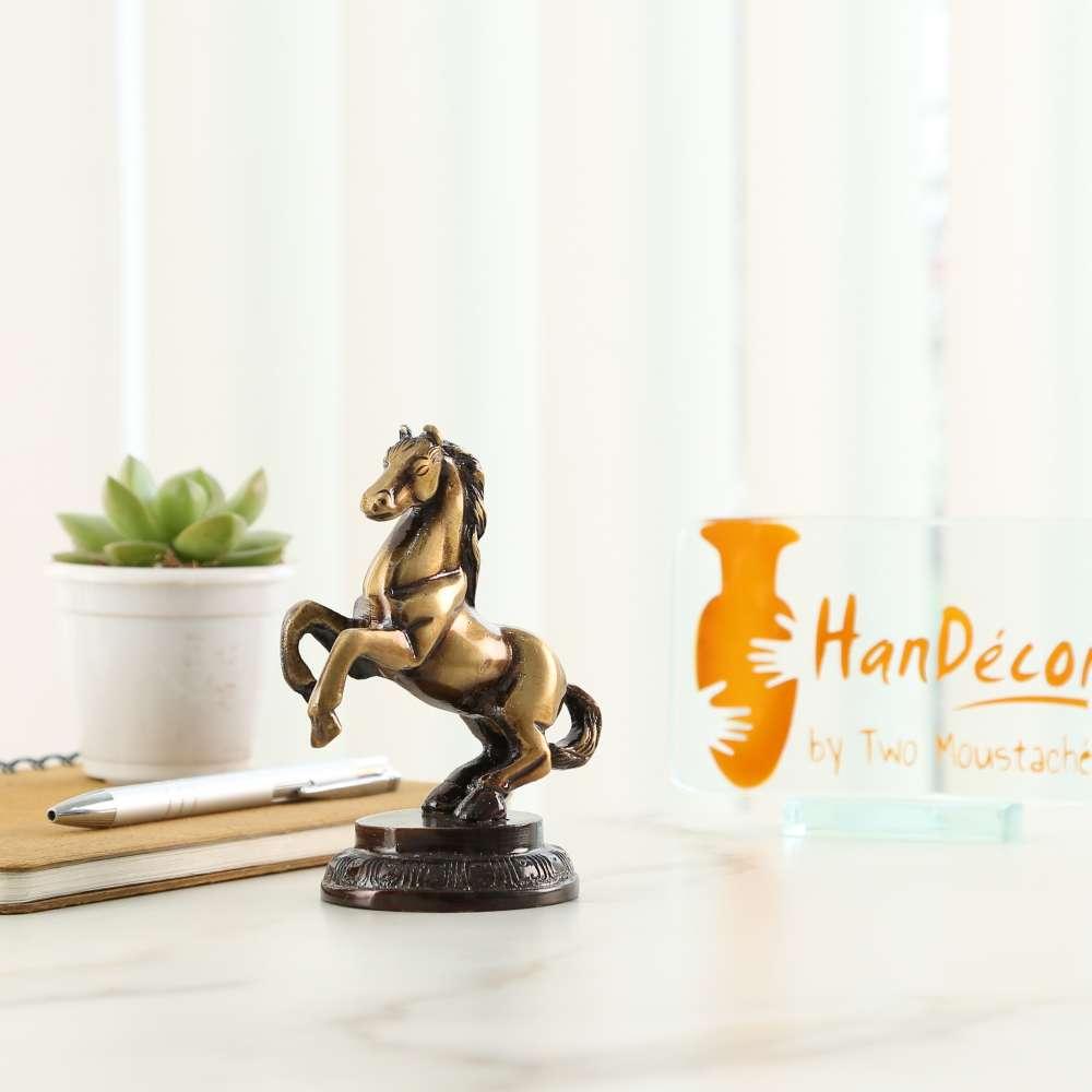 Horse Tableware Showpiece