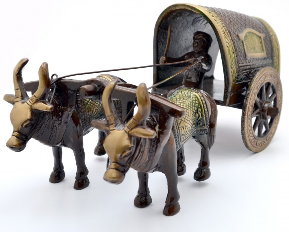 Village Bullock Cart (Covered)