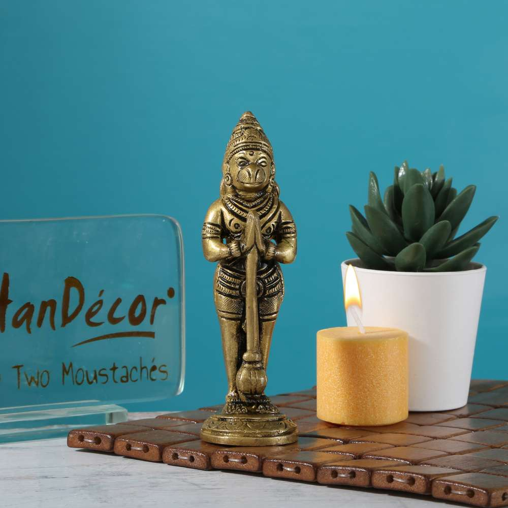 The Humble Hanuman Statue