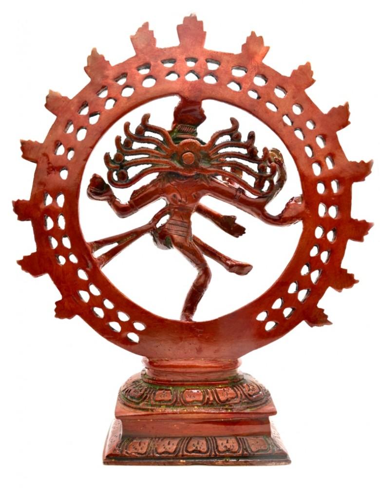 Divine Lord Natraj-Flame Red