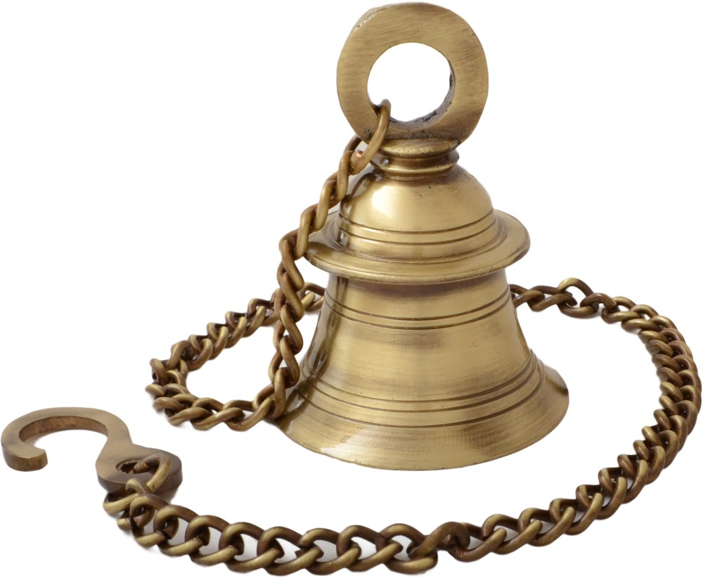 Hanging Bell With Chain