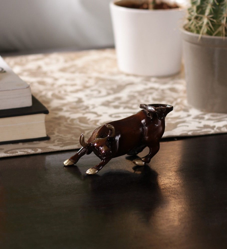 Charging Bull 5 Inches Showpiece