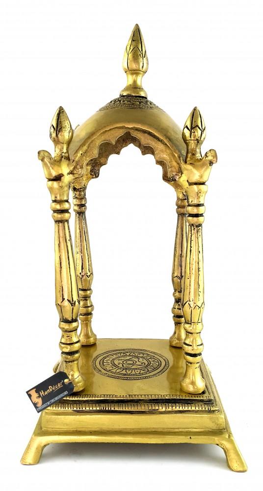 Brass Temple Religious Home Decor
