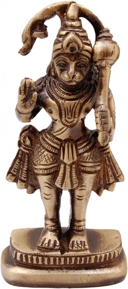 Brass Hanuman Ji Standing