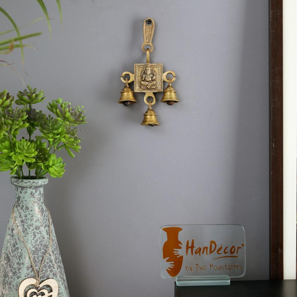 Ganesha Hanging Bells