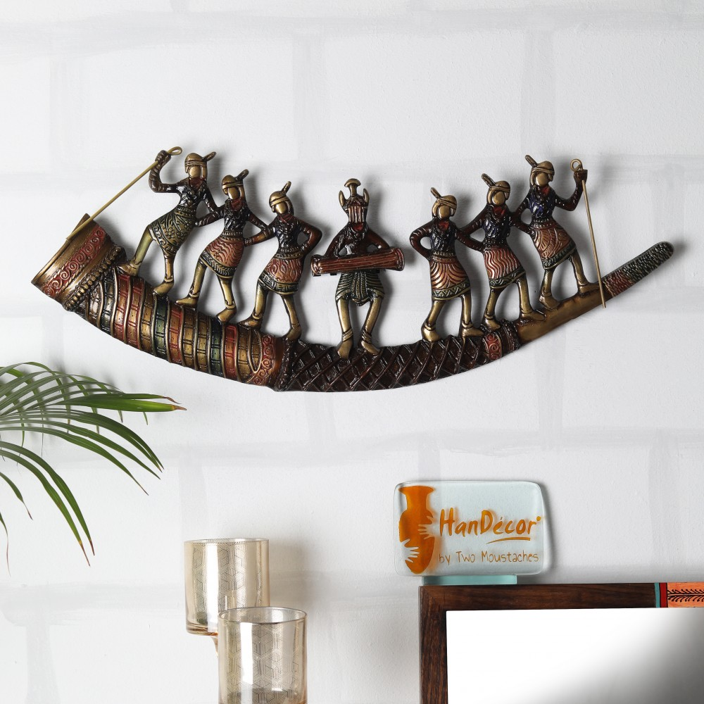 Tribal Folk Dancers Wall Hanging