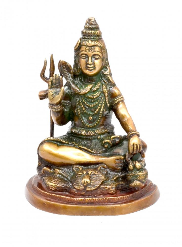 Shiva in Meditation Statue