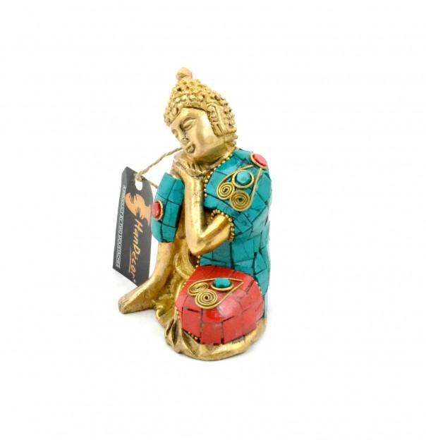 Buddha Resting Gemstone Showpiece