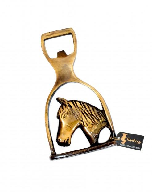 Brass Horse Design Bottle Opener