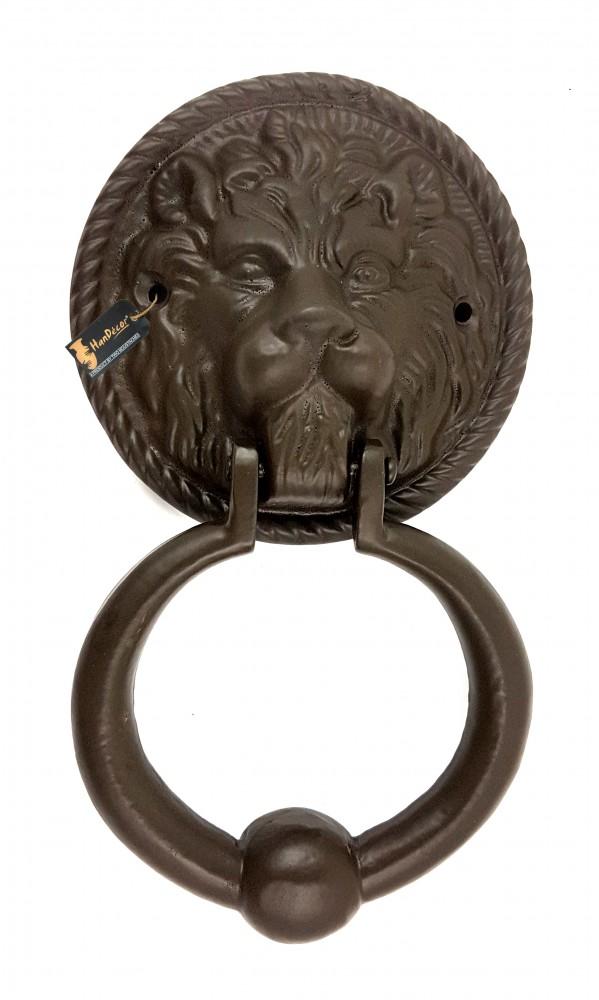 Lion Face Design Metal Door Knocker