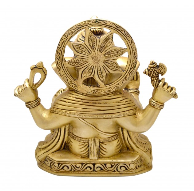 Handcarved Lord Ganesha Statue