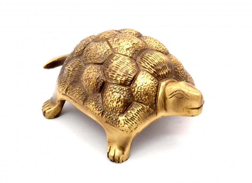 Brass Vaastu Tortoise Antique Finish