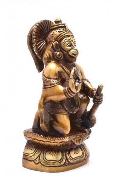 Hanuman Sitting Aashirwaad Statue