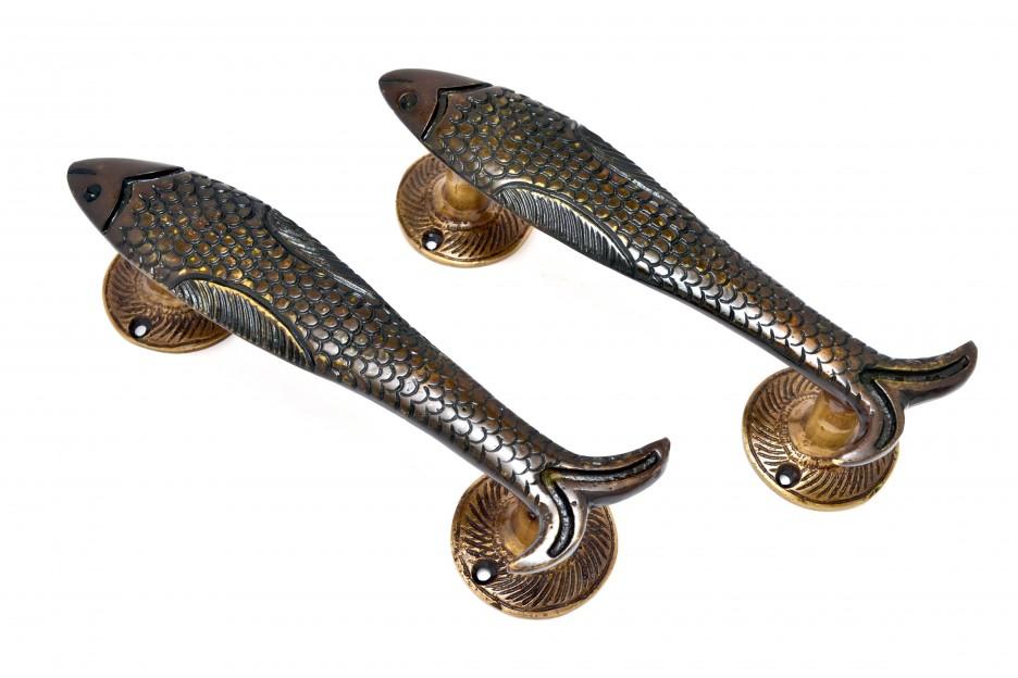Fish Handle Pair