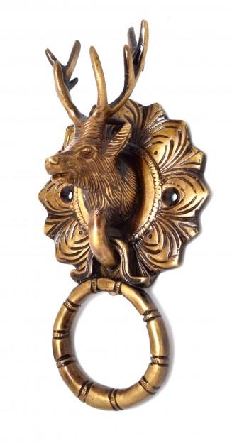 Reindeer Head Door Knocker