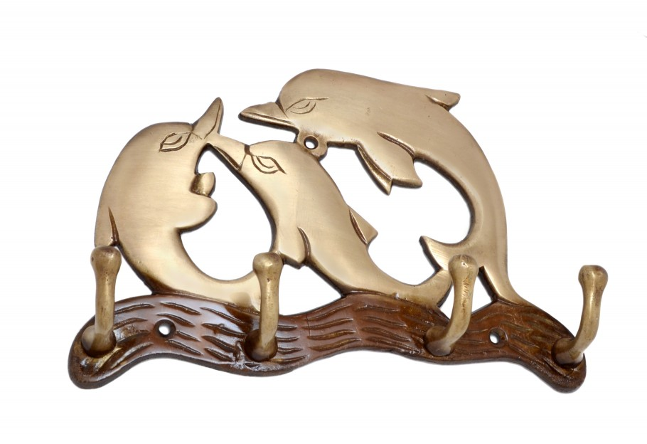 Dolphin Family Key Holder