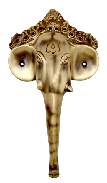 Ganesha Mask Door Handle