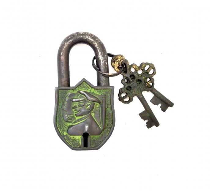 Captain Design Door Lock Brown