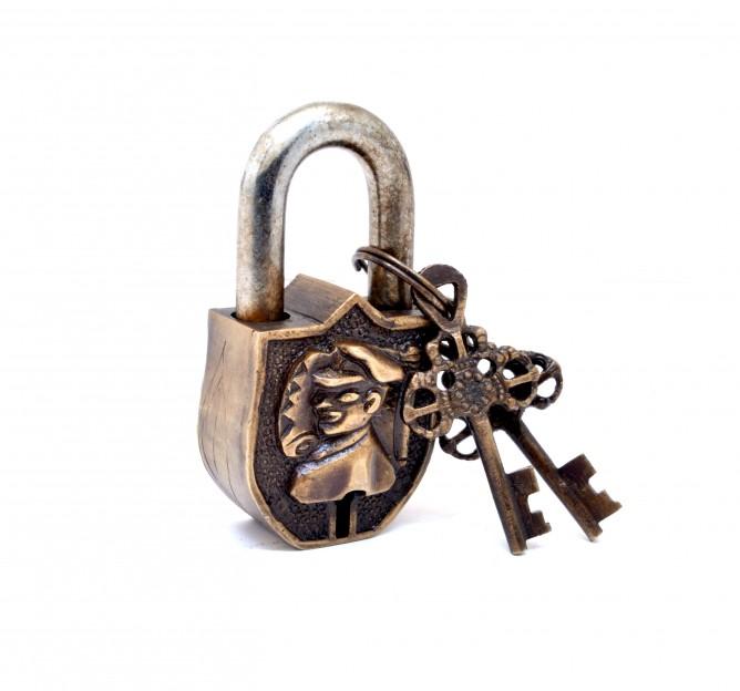 Captain Design Door Lock Golden