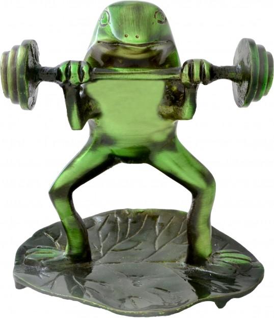 Decorative Bodybuilder Frog