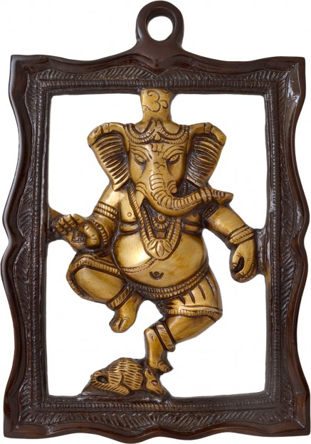 Wall Hanging Ganesha In Frame