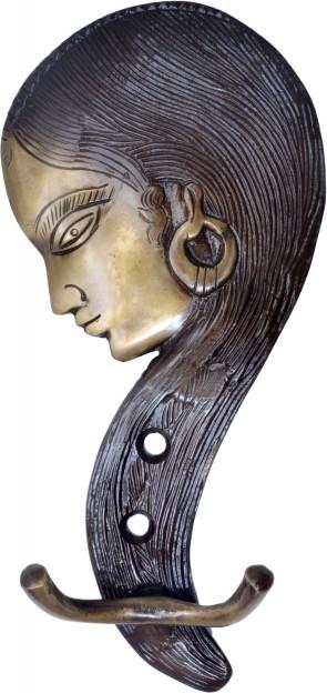 Tribal Lady Key Holder