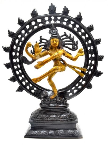 Divine Lord Natraj-Antique Black