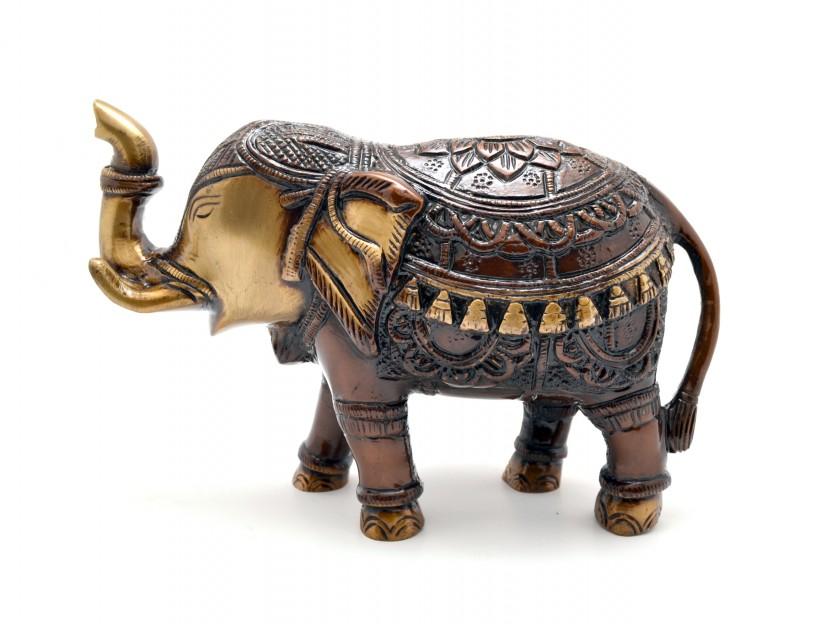 Royal Indian Elephant Showpiece