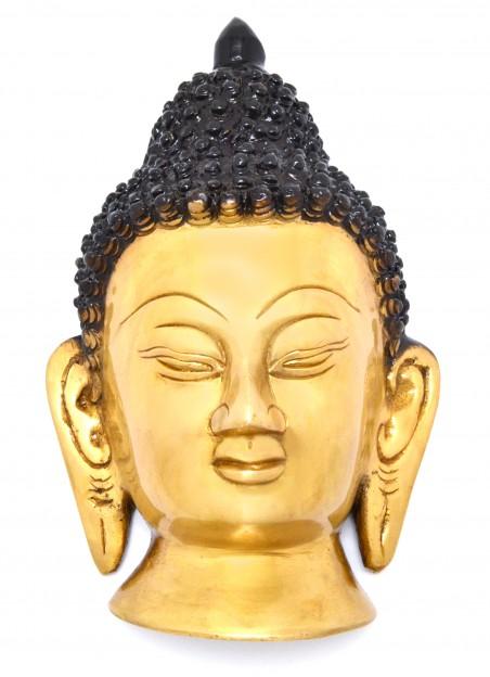 Serene Buddha Face Wall Hanging