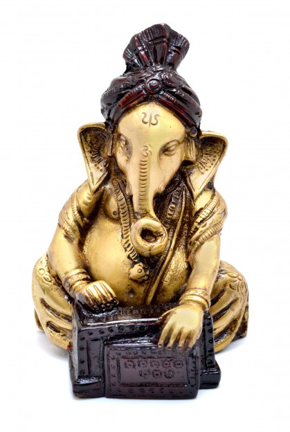 Ganesha Playing Harmonium