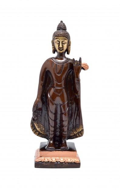 Buddha Standing Brown