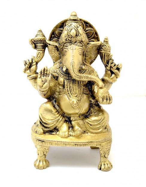 Ganesha Seated on Chowki
