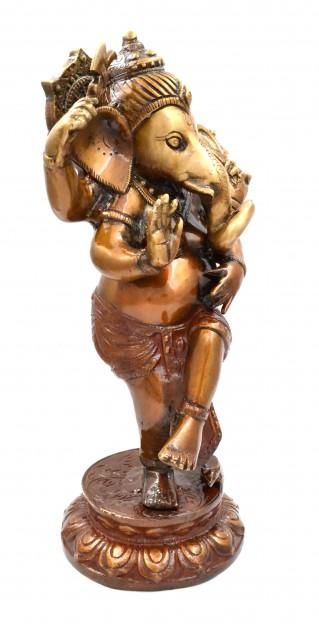 Dancing Ganesha Statue 11 Inches