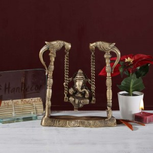 Ganesh on Peacock Jhoola
